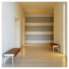 """styletaboo: """"John Pawson - Hotel Puerta América, Reception Desk and Meeting Rooms [Madrid, 2005] """""""