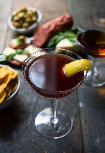 Harvard Cocktail // Oakhurst Kitchen