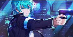 Cr: (Ain, Detroit: become human crossover) Ain Elsword, Elsword Game, Cute Characters, Anime Characters, Blue Hair Anime Boy, Kaito Shion, Anime Korea, Boys Anime, Anime Devil