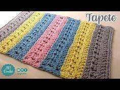 Tapete de crochê simples | FÁCIL - JNY Crochê - YouTube