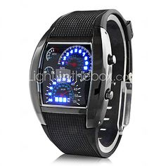 Men's Watch Sports Speedometer Style LED Digital Calendar Wrist Watch Cool Watch Unique Watch Fashion Watch - USD $4.99 ! HOT Product! A hot product at an incredible low price is now on sale! Come check it out along with other items like this. Get great discounts, earn Rewards and much more each time you shop with us!