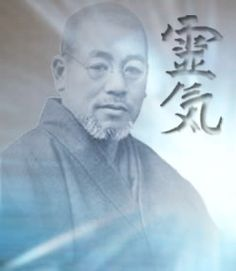 Dr. Mikao Usui the founder of Usui Reiki. To practice Reiki a student must first receive instruction and an attunement(s).