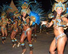 The Rio de Janeiro Carnival - Rio de Janeiro, Brazil