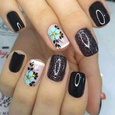 Get Nails, How To Do Nails, Hair And Nails, Fall Nail Art Designs, Cute Nail Designs, Vintage Nails, Nail Art Techniques, Short Nails Art, Long Acrylic Nails