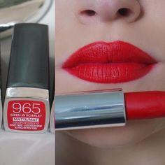 Maybelline Creamy Matte Lipstick, Maybelline Lipstick, Crayon Lipstick, Lipstick Swatches, Makeup Swatches, Matte Lipsticks, Nyx, Natural Lip Colors, Color Sensational