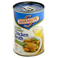 2 cups fat-free, reduced-sodium chicken broth, such as Swanson's Crockpot Chicken And Dumplings, Homemade Dumplings, Dumpling Recipe, Canned Chicken, Cream Of Chicken Soup, Slow Cooker Chicken, Crock Pot Freezer, Crock Pot Tacos, Can Chicken Recipes