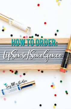If you are wondering how to order, purchase or buy SeneGence or LipSense - you\'ve come to the right place.  #howtoorder #lipsense #senegence #orderlipsense