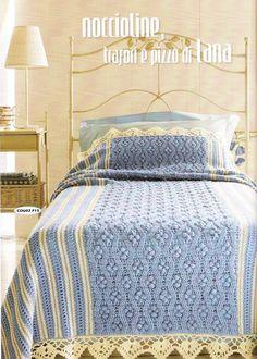 Crochet: LUXURIOUS KNIT BLANKET FOR THE BEDROOM