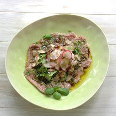 bushcooks kitchen: Lauwarmes Kalbsfilet mit Kräutervinaigrette aus Streetfood…
