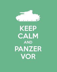 This is a Girls und Panzers saying!