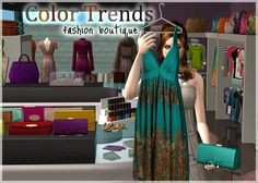 SIMS 2 - ♥ Color Trends ♥ - Downloads - BlackPearlSims