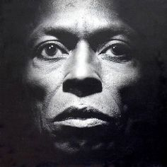 Miles Davis by Irving Penn (Tutu, 1986)