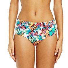 Gossard Women s Hot Tropic Shorts Floral Bikini Bottoms 40861a9de