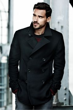 H&M Pea Coat Fall 2014