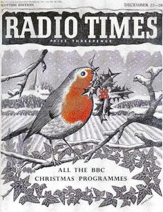 Radio Times Cover 1957-12-22 Christmas by James Hart
