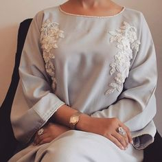 Image in HIJAB :) collection by pàkinam on We Heart It Arab Fashion, Muslim Fashion, Ski Fashion, Modest Wear, Modest Outfits, Modesty Fashion, Fashion Dresses, Modern Abaya, Arabic Dress