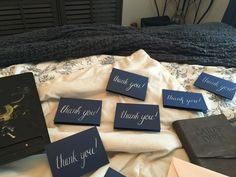 Working on Thank You notes #calligraphy