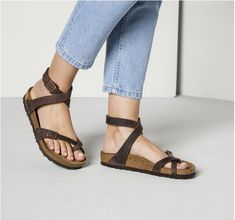 ad6b918b5dbb8 All Tradehome Shoes + Birkenstock - Products. Strappy Sandals OutfitLeather  SandalsWomen s ...