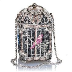 Judith Leiber Bird Cage Clutch