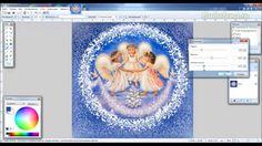 Создаем  вырез с помощью эффекта Вмятины в Paint.net