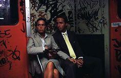 New York City Subway by Bruce Davidson, 1980s