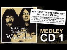 "WhoCares ""Ian Gillan & Tony Iommi"" CD 1 Album Medley (2012)"