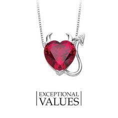 Created Ruby and Diamond Devil Pendant in Sterling Silver Fred Meyer Jewelers. Save 60 Off!. $49.99