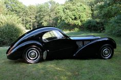 Beauty on four wheels, the Bugatti Type 57 SC Atlantic Coupe