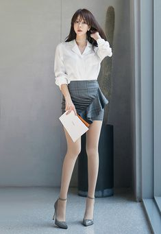 Waist Skirt, High Waisted Skirt, Korean Fashion, Asian, Chic, Sexy, Womens Fashion, Skirts, Model