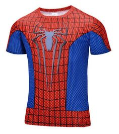 a3b4f323b5d NEW Marvel   DC Comics Superhero Fitness Compression Shirts