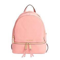 6a4c49148c MICHAEL Michael Kors Rhea Small Leather Backpack Pink Michael Kors  Designer