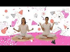 "YOGIC / Yoga para Niños - Tutorial Meditación ""Gracias, Thank You, Merci Beaucoup"" Yoga Mantras, Chico Yoga, Baby Yoga, Pilates Video, Feelings And Emotions, Yoga For Kids, Reiki, To My Daughter, Massage"