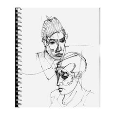 Mate Steinforth » Sketchbook Madrid ❤ liked on Polyvore featuring fillers, books, art, items, white, backgrounds, doodle, magazine and scribble