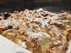 Scheiterhaufen+mit+Rosinen #waskochen Visit Austria, Apple Pie, Super, Desserts, Food, Souffle Dish, Delicious Dishes, Salt, Milk