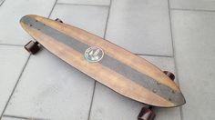 Custom made hardwood longboard