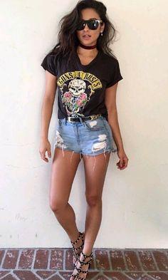 Look: Short Jeans + Sandália