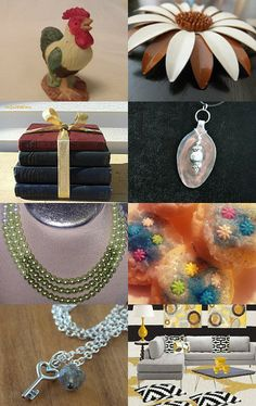 My flower brooch is featured in this treasury! New Beginnings by Brent on Etsy--Pinned with TreasuryPin.com