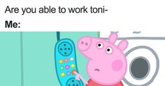 A new angry Peppa Pig meme is making its round around the internet. We've compilated the most funniest one, sprinkled with a few classic Peppa Pig memes. Peppa Pig Funny, Peppa Pig Memes, Peppa Pig Painting, Peppa Pig Stickers, Peppa Pig Wallpaper, Peppa Pig Imagenes, Peppa Pig Dress, Meme Stickers, Aesthetic Stickers
