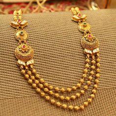 Gold And Silver Dealer Delhi Gold Bangles Design, Gold Jewellery Design, Diamond Jewellery, Manubhai Jewellers, Pearl Necklace Designs, Gold Necklace, Bridal Necklace, Collar Necklace, Gold Jewelry Simple