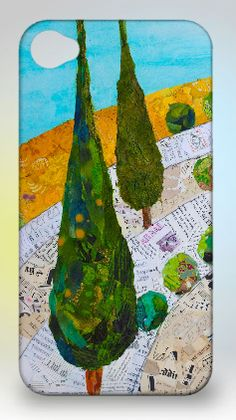 """ART AND LIFE of a figurative collage artist from Orlando, FL. Creating """"Paintings"""" with bits of torn paper, applied as brush strokes! Tree Collage, Collage Art Mixed Media, Tree Art, Fairy Tale Forest, Collage Artists, Collages, Iphone 4 Cases, Art Journal Inspiration, Journal Ideas"""