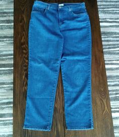 Basic Editions Jeans Classic Fit Womens Size 12 Average Blue #BasicEditions #ClassicFit