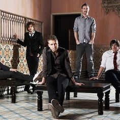 OneRepublic I really love how they are not the most amazing and hottest guys you will ever see in your life but they sound so amazing that it dosen't matter.
