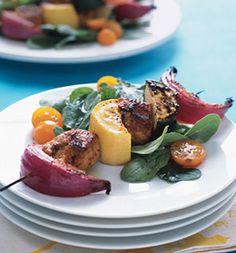 Chicken-and-Summer-Squash Kebabs