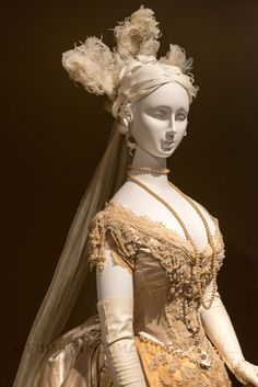 Open now at the FIDM Museum, BLISS: 19th-Century Wedding Gowns from The Helen Larson Historic Fashion Collection explores the evolving silhouette of 19th-century wedding gowns.