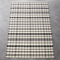 Shop black and white check rug. A mix of masculine and modern, this handloomed flatweave is tailor-made for the office, dining room—anywhere you want to step up the sophistication. Dhurrie Rugs, Modern Area Rugs, Room Accessories, Farmhouse Chic, Contemporary Rugs, Outdoor Blanket, Black And White, Dining Room, Home
