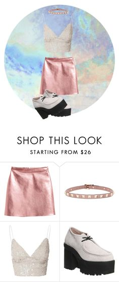 """""""speachless"""" by vikyarmstrong ❤ liked on Polyvore featuring Valentino, Glamorous and Jeffrey Campbell"""