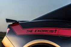 Hennessey Performance (HPE) introduces their newest super muscle car: THE EXORCIST TM. Based on the 2017 Chevrolet Camaro the Hennessey team radically Camaro Zl1, Chevy Chevelle, Chevy Nova, Chevrolet Camaro, Chevy Trucks Older, Chevy Diesel Trucks, Custom Chevy Trucks, Classic Chevy Trucks, Dually Trucks