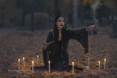 Witchcraft by IkuLestrange on DeviantArt Horror Photography, Halloween Photography, Fantasy Photography, Witch Photos, Halloween Fashion, Halloween Pictures, Horror Photos, Witch Aesthetic, Photoshoot Inspiration
