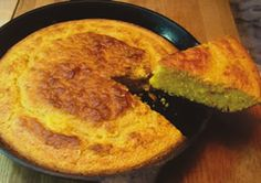 Wheat-free cornbread - great texture and pretty good flavor...I'm still working on perfecting this one. I use Agave nectar instead of honey.