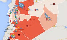 How to make infographics: a beginner's guide to data visualisation  Physicians for human rights Syria map